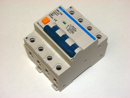 RTC  HR3 Series  4 Pole RCBO  HR3-4PC**