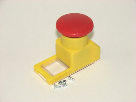 ABL 1E3 MS Emergency Stop Button (M-PV) Accessory for use with enclosure M-G55, M-F55
