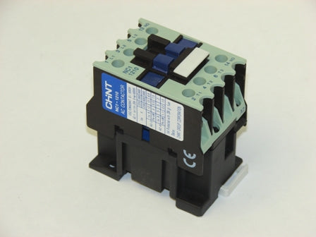 Chint NC1-0901P7 AC Contactor 3 N/O + Aux AC1 25A, Motor Rating 9A