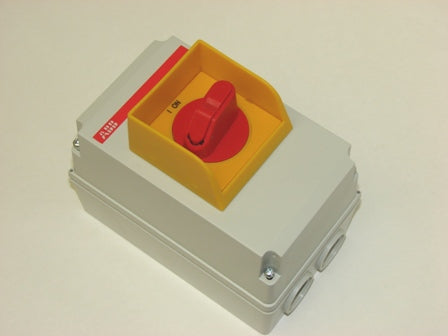 ABB MS116 Manual Motor starter enclosure Enclosure OTPA116A2M1