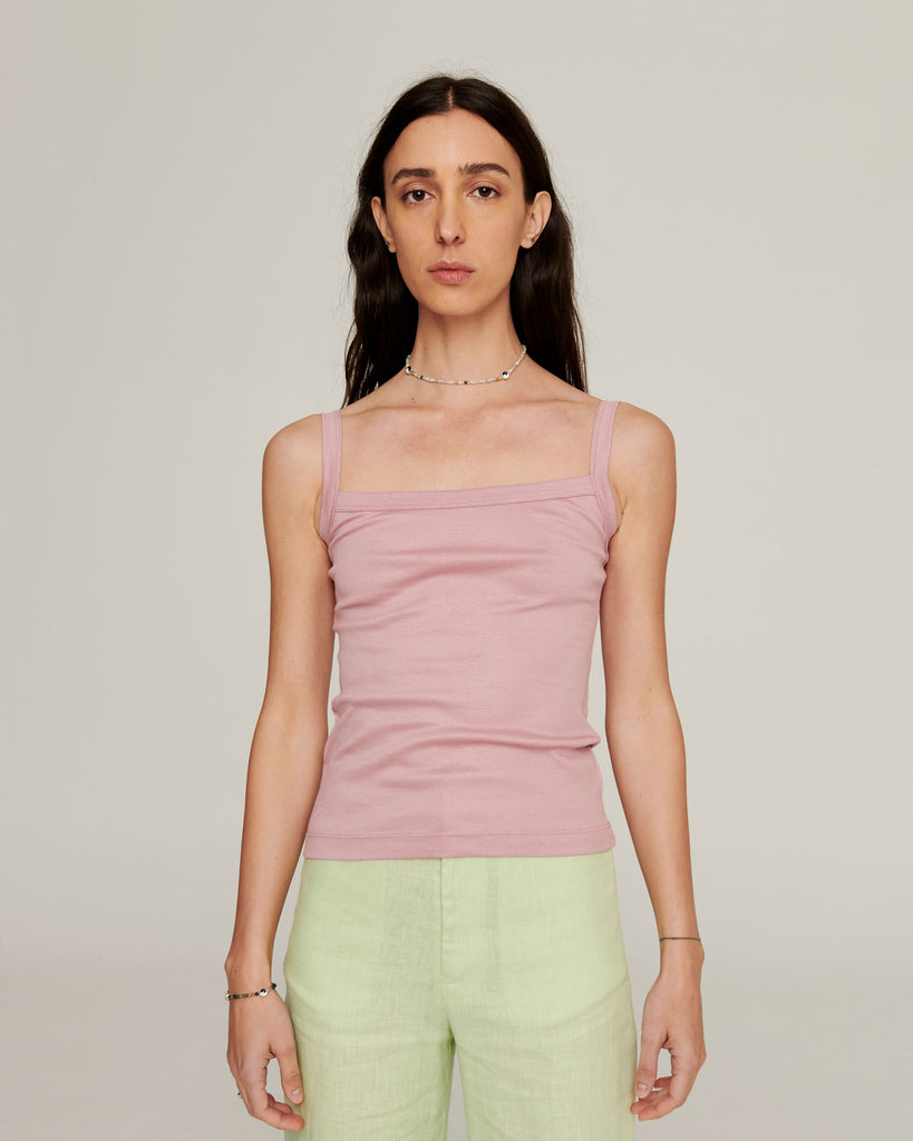 Luxe Layering Singlet ~ Rose