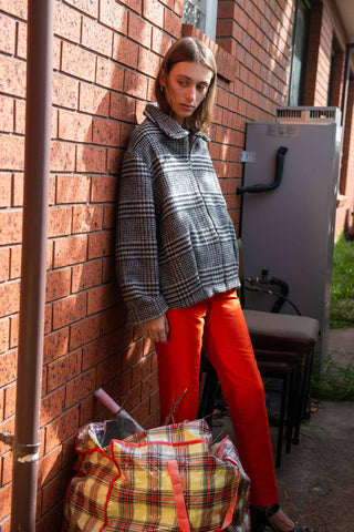 Cigarette Trousers ~ Tangerine