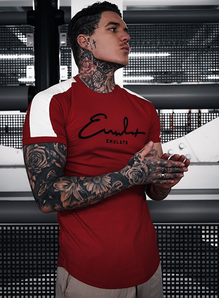 LINDEN SIGNATURE TEE - RED