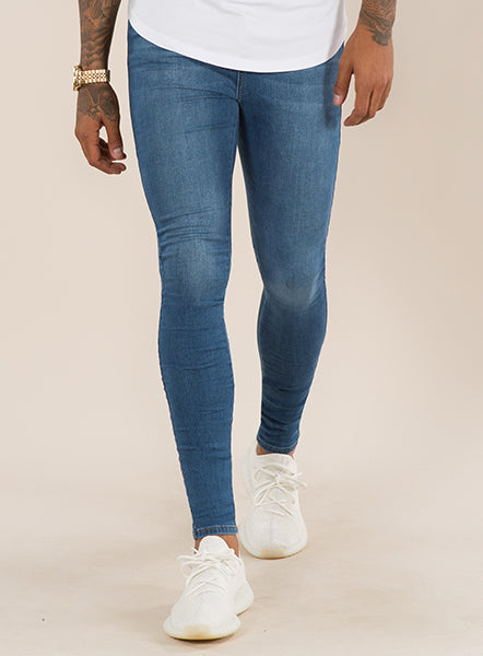 SUPER SPRAY ON SKINNY JEANS - DARK WASH