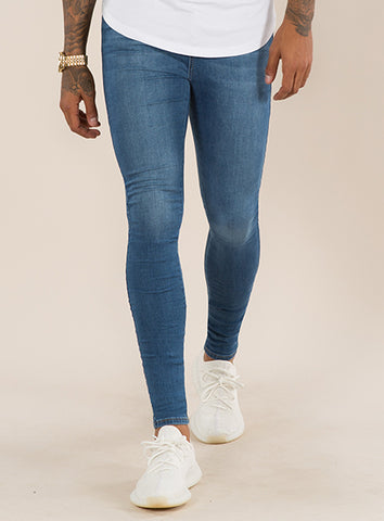 Super Spray On Skinny Jean - Dark Wash