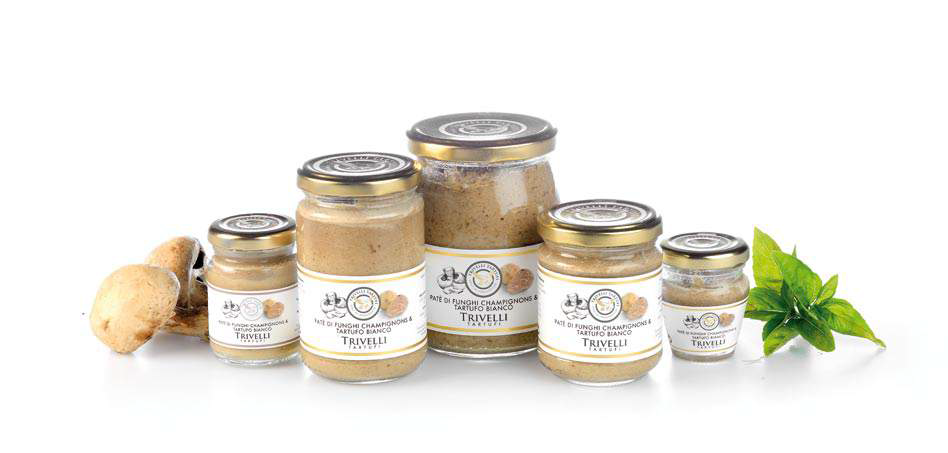 Mushrooms and White Truffle Pate 45-Grams