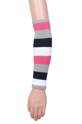 Women's Big Stripes Arm Warmer 2 Pair Pack