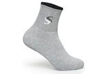 Supersox Men's Ankle Cotton Terry Multi Color Socks - (Pack Of 5)