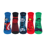 Supersox Disney Avenger Ankle Length Socks Collection for Kids Pack of 5