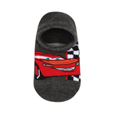 Supersox Disney Cars Character No Show Length Socks Collection for Kids Pack of 2