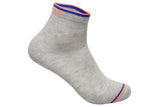 Men's PO3 Ankle Combed Cotton Plain Socks