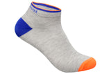 Men's PO3 Sneaker Combed Cotton Plain Socks