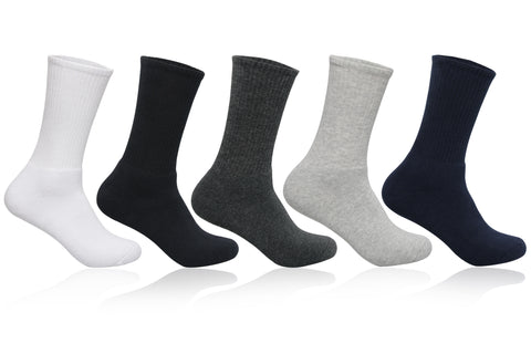 Men's PO5 Sports Regular Terry Cotton Socks