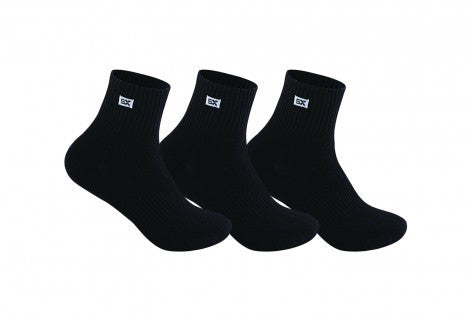 Men's PO3 Terry Combed Cotton Sports Ankle Socks