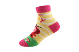 Supersox Peppa Pig Character Ankle Length Socks Collection for Kids Pack of 6