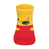Supersox Disney Winnie The Poo Character Regular Length Socks Collection for Baby Pack of 3