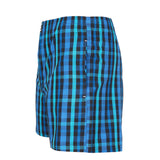SuperGear Multi Color Checks Design Two Pockets Boxers For Mens (Pack of 1)
