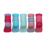 Supersox Disney Frozen Ankle Length Socks Collection for Women Pack of 5 (Free Size)