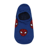 Supersox Disney Spiderman Collection Character No Show Length Socks for Men Pack of 3