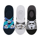 Supersox Disney Star Wars Character No Show Length Socks Collection for Kids Pack of 3