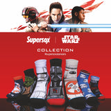 Supersox Disney Star Wars Ankle Length Socks Collection for Men (Pack of 5)