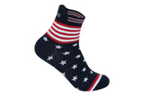 Supersox Unisex US Collection Design Free Size Ankle Length Socks Pack Of 5