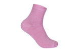 Supersox Combed Cotton Metallic Design Ankle Length Free Size Socks for Women (Pack of 5)