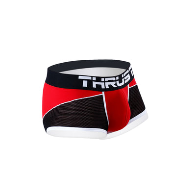 Thrust Sport Mesh Boxer Brief Red