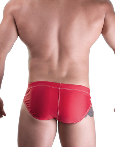 WildmanT SPORT CHEVRON BIKINI SWIM RED - Big Penis Underwear, WildmanT - WildmanT