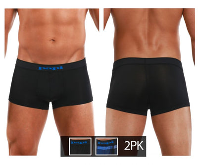 Cool2 2PK Solid-Print Brazilian Trunks