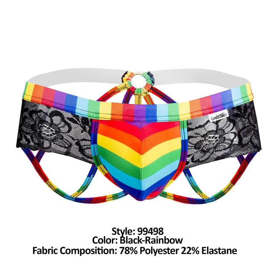 Pride Lace Jockstrap Brief