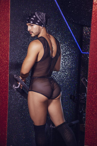 Mesh Bodysuit Trunks