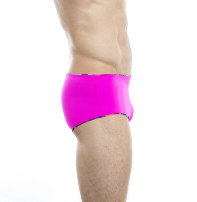 Ruisseau² Reversible Swim Trunks