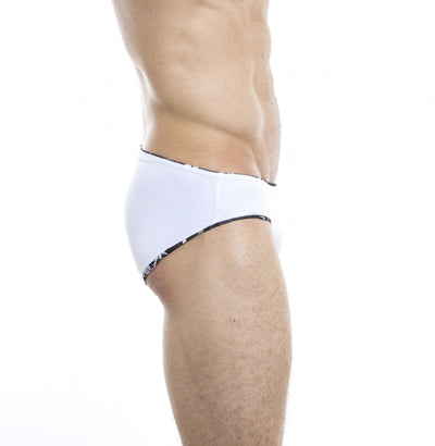 Einfarbig² Reversible Swim Briefs