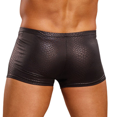 Black Cobra Mini Short Boxer Briefs