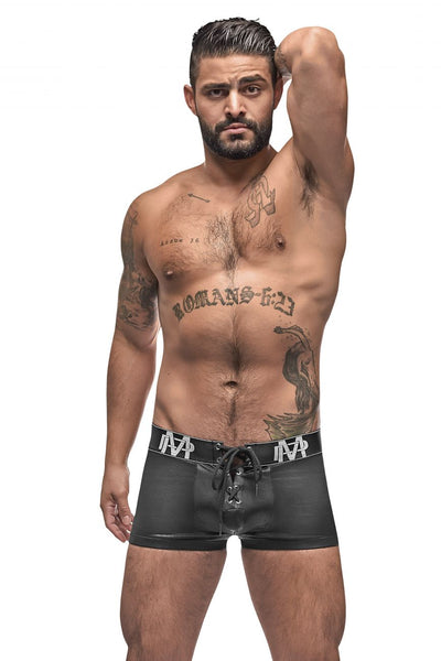 Black Ice Lace Up Short