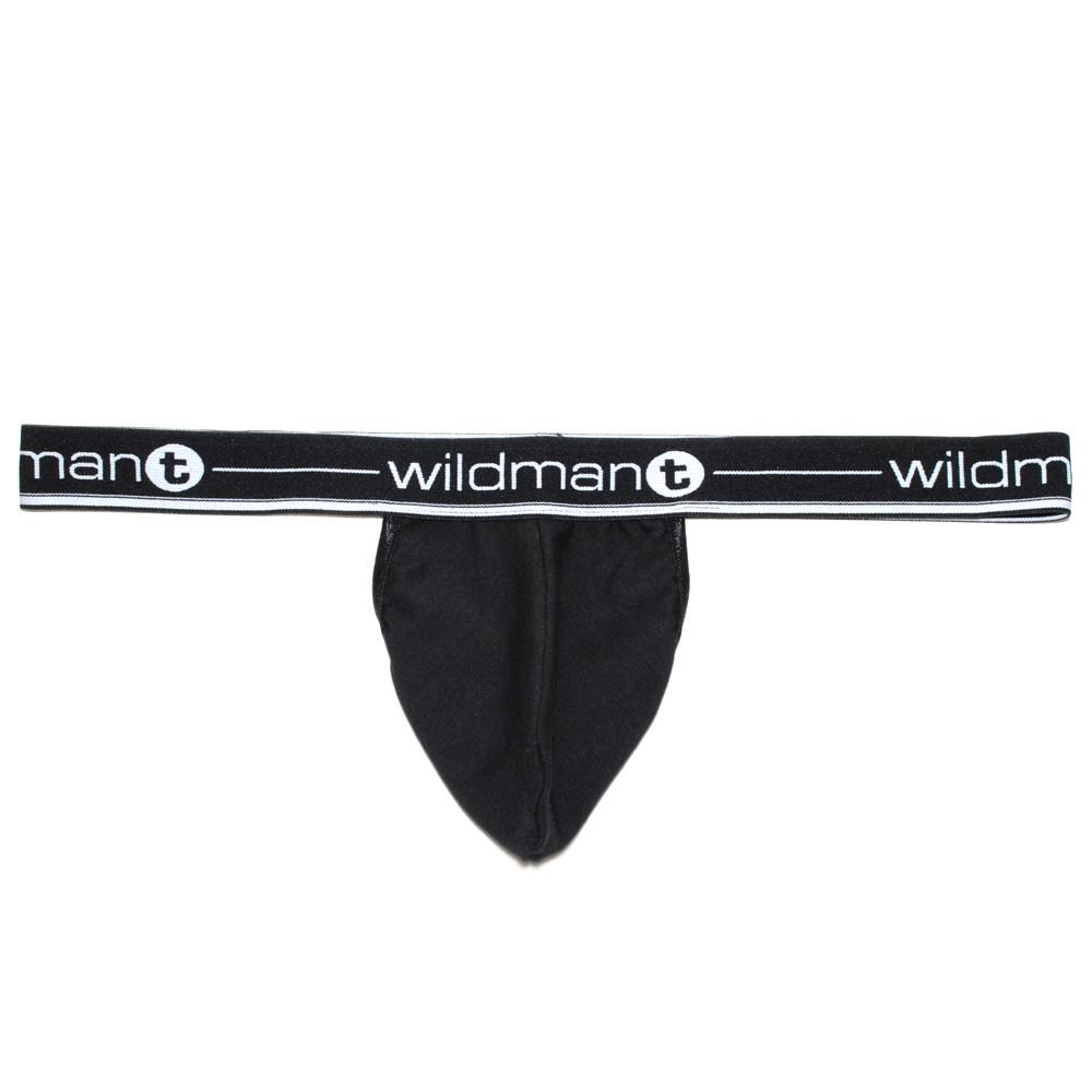 WildmanT Big Boy Pouch Strapless Jock Black