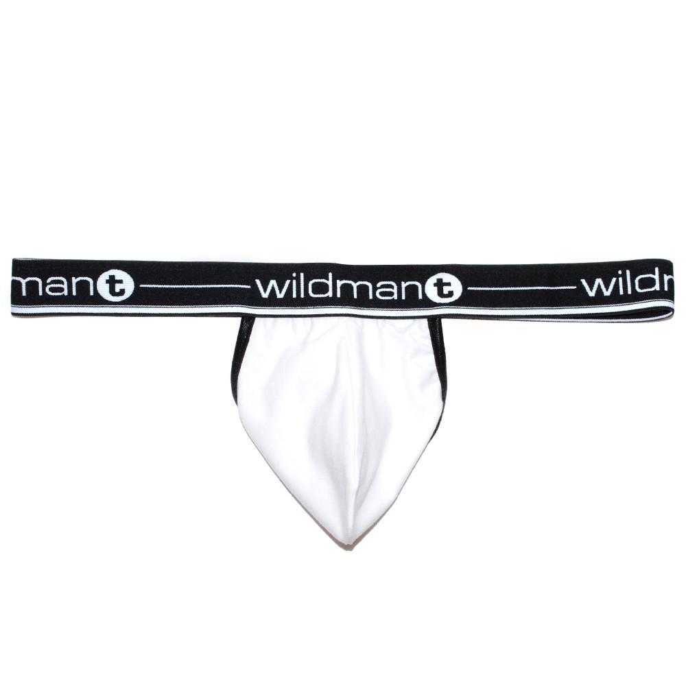 WildmanT Big Boy Pouch Strapless Jock White