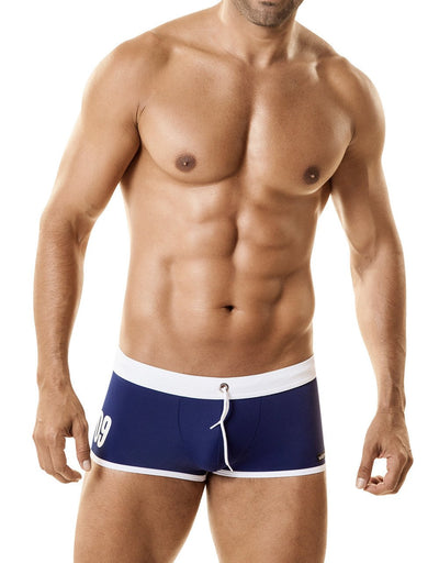 WildmanT Jersey Swim w/Cock Ring Blue - Big Penis Underwear, WildmanT - WildmanT