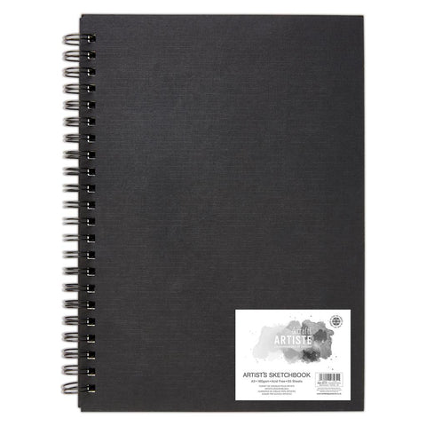 A3 Portrait Artist Sketchbook  - 160gsm 50 Sheets - SweetpeaStore