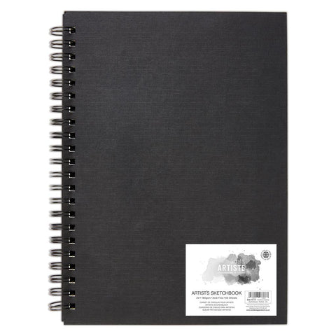 A4 Portrait Artist Sketchbook  - 160gsm 50 Sheets - SweetpeaStore