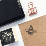 Bee Wooden Rubber Printing Stamp - SweetpeaStore