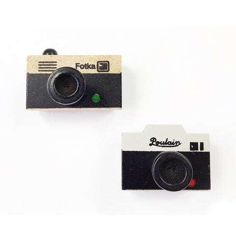 Kawaii Retro Camera Rubber Stamp - SweetpeaStore