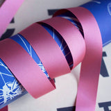 25mm Pink Grosgrain Ribbon - Choose Shade - SweetpeaStore