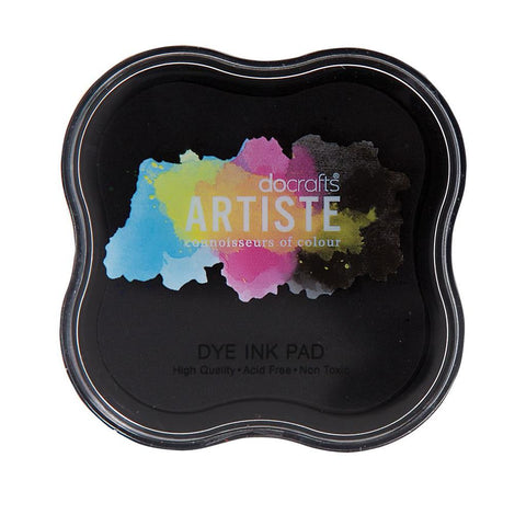 Black Dye Ink Pad - Docrafts Artiste - SweetpeaStore