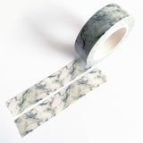 Grey Marble Stone Paper Washi Tape - 15mm x 10m - SweetpeaStore