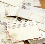 Set of 12 Vintage Mini Envelopes - SweetpeaStore