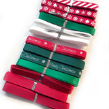 Berties Bows Mixed Christmas Ribbon Bundle - 9mm x 1m x 24 metres - SweetpeaStore