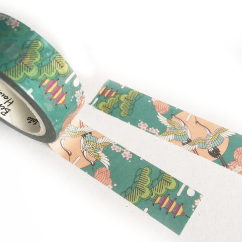 7m Pretty Japanese Design Paper 15mm Washi Tape - SweetpeaStore