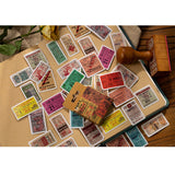 Mini Box Set of 50 Vintage Music Gig Tickets Journal Scrapbook Paper Stickers - SweetpeaStore